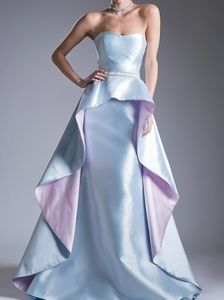 New formal ball gown,evening pageant quiencenara